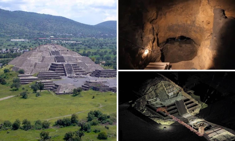 'Put u podzemni svijet': Ispod piramide našli skrivene tunele