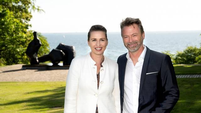Danish Prime Minister Mette Frederiksen visits Museum of Modern Art Louisiana in Humlebaek
