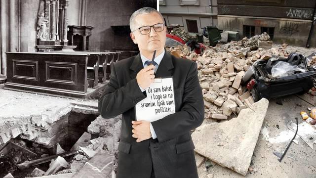 Potres 1880.: Prva faza obnove gotova za mjesec dana. Potres 2020.: Ministar se ruga narodu