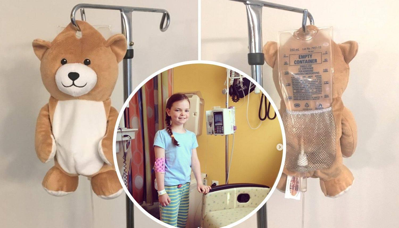Bolesna curica smislila način kako infuziju učiniti ugodnijom