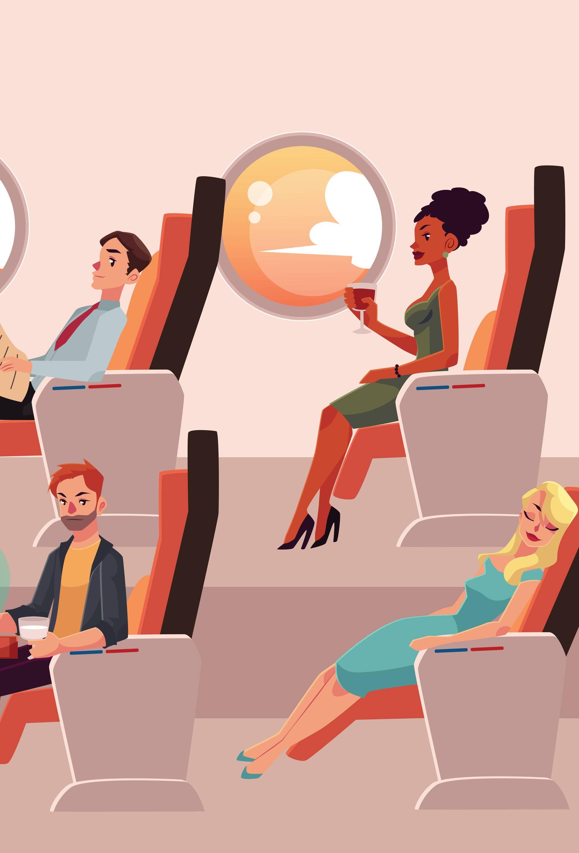 Evo kako se korona virus širi u avionu i gdje je pametno sjesti