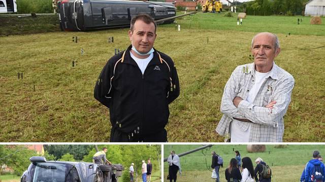 'Bus nam je sletio u dvorište, uzeli smo sjekiru i išli spašavati'