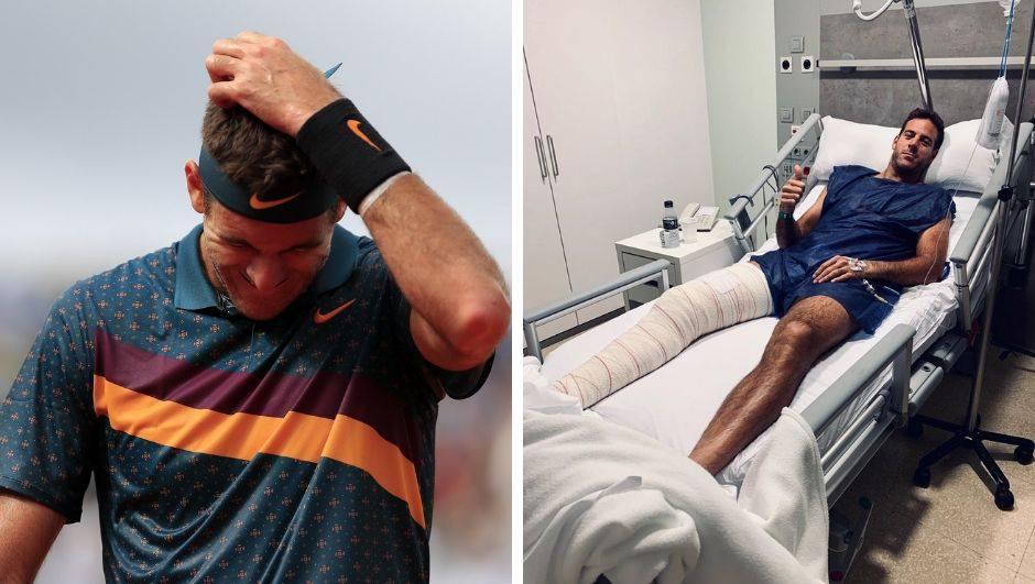 Del Potro operirao unakaženo koljeno: Možda je došao kraj...