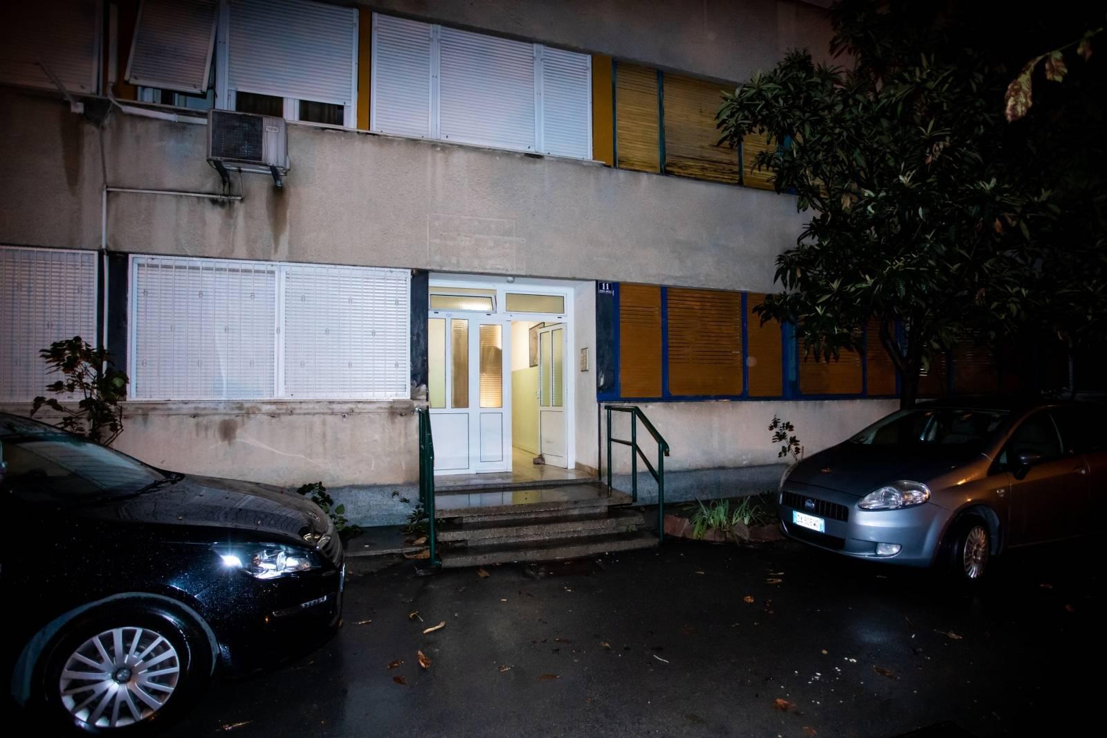 Splita: Zgrada u Sukoišanskoj ulici u kojoj je pronađeno mrtvo tijelo ženske osobe