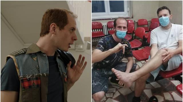 Bogović iz 'Crno-bijelog svijeta' ozlijedio prst, a redatelju je pukla Ahilova peta na utakmici