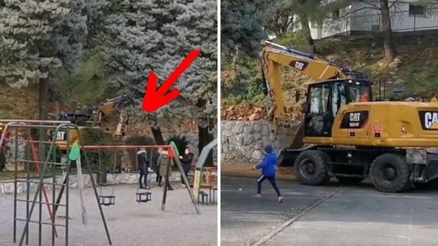 Roditelj: Bageri su blizu djece! Inženjer: 'Stavljena je ograda'
