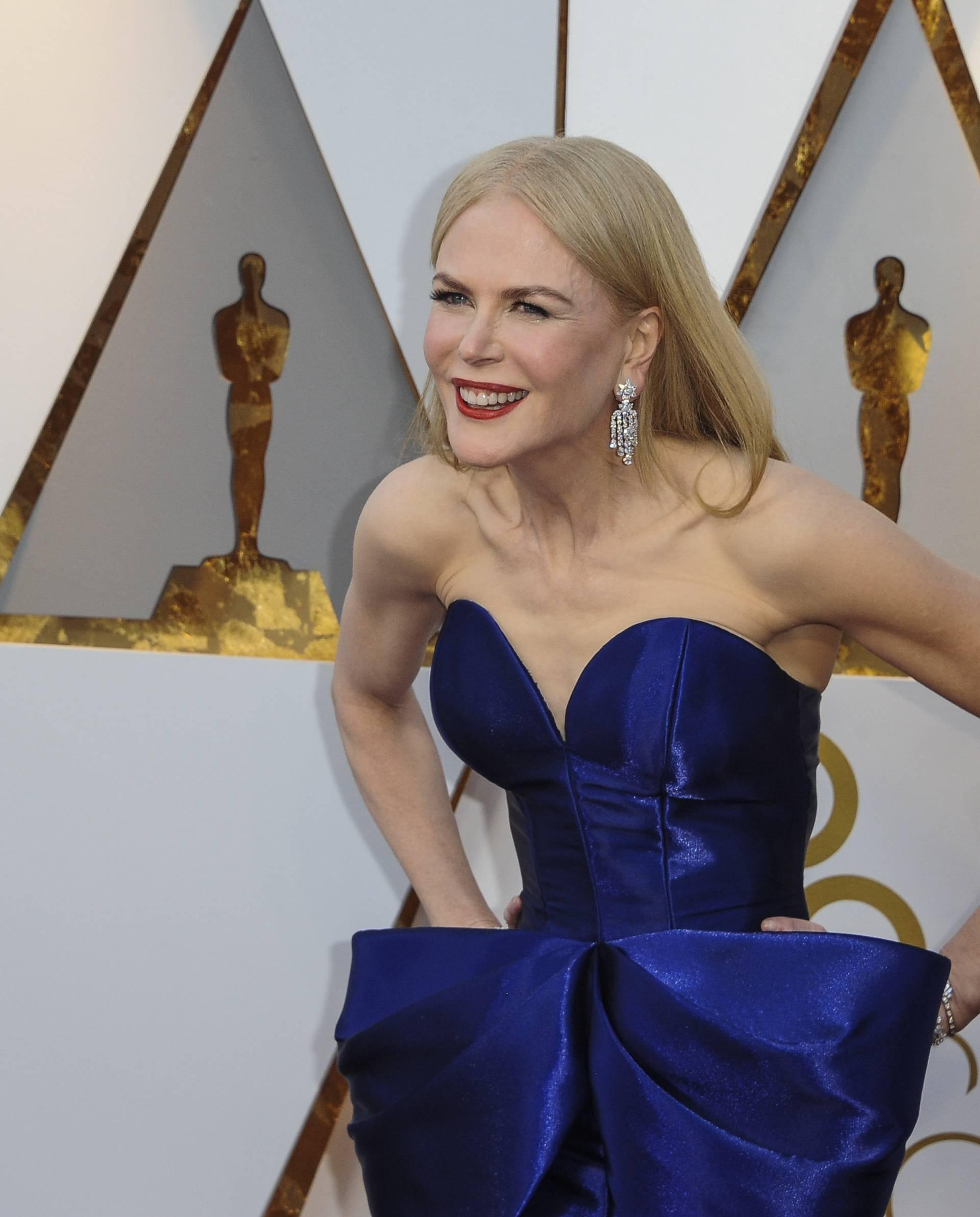 The 90th Academy Awards arrivals
