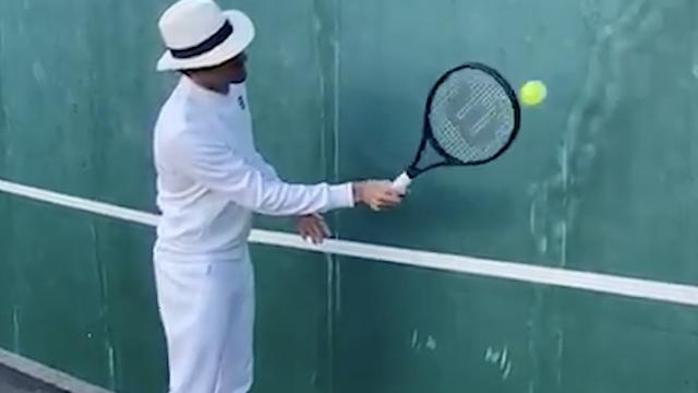 Federerov izazov postao hit u svijetu: Udaraj tu lopticu o zid
