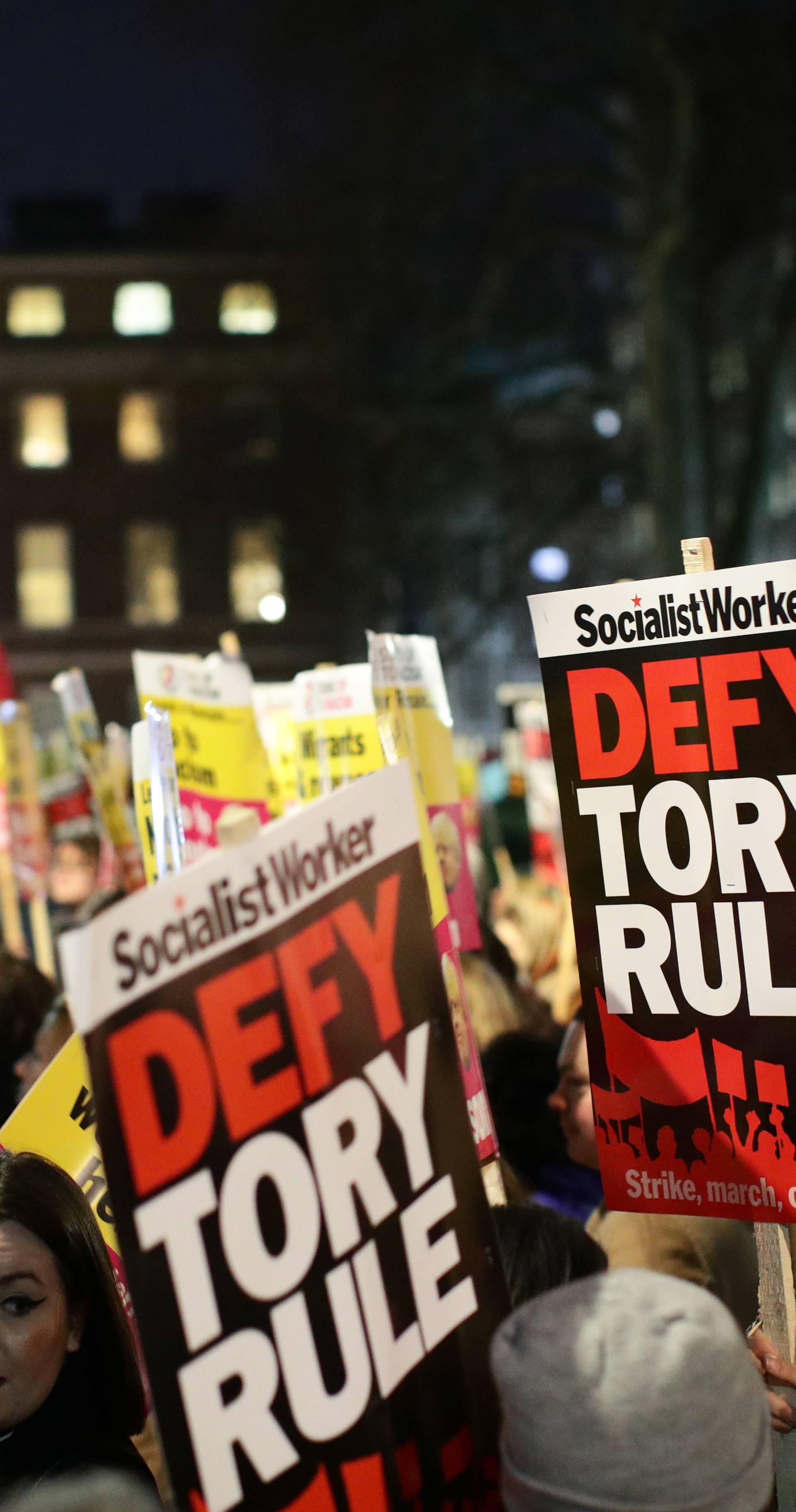 Bijes zbog izbora u Londonu: Policija razdvajala prosvjednike