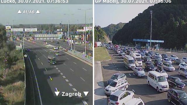 Zbog prometne nesreće na A6 vozi se otežano, tijekom dana očekuje se pojačan promet