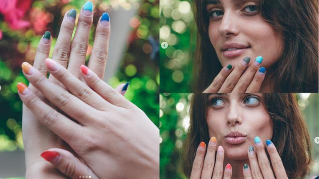 Hit ljeta - 'umočeni' nokti: Samo pola je obojano, a polovica ne