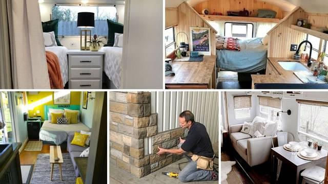 Kako urediti mali mobilni dom: Donosimo 20 inspirativnih ideja