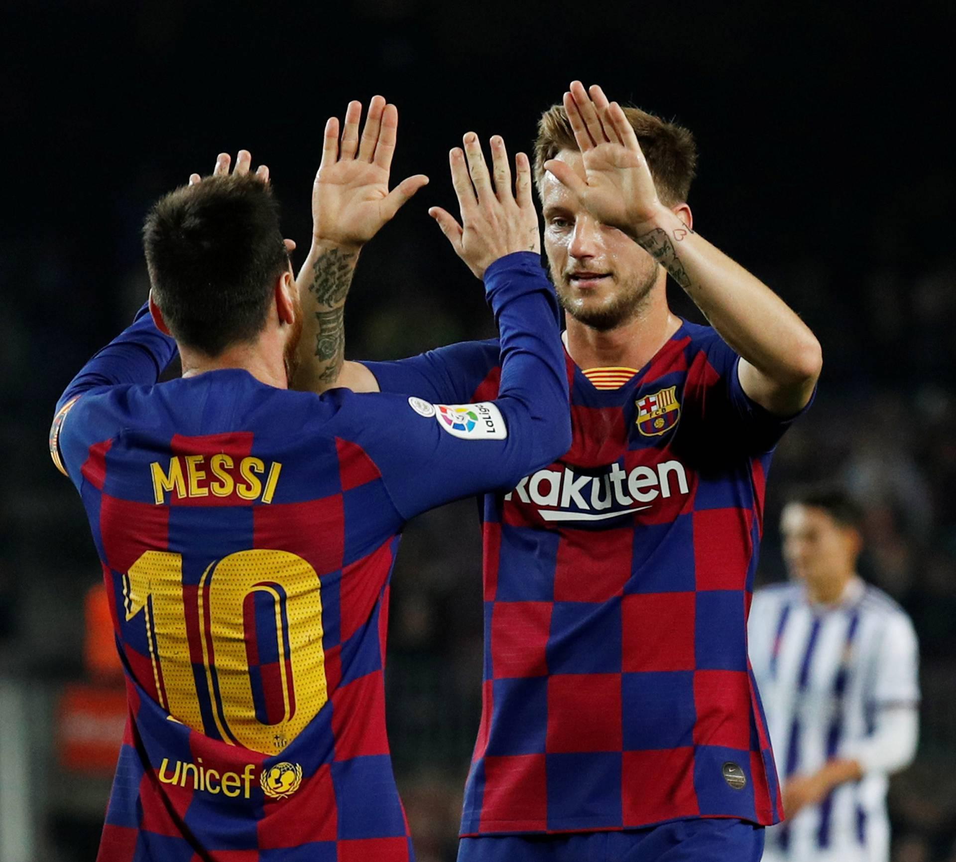 La Liga Santander - FC Barcelona v Real Valladolid