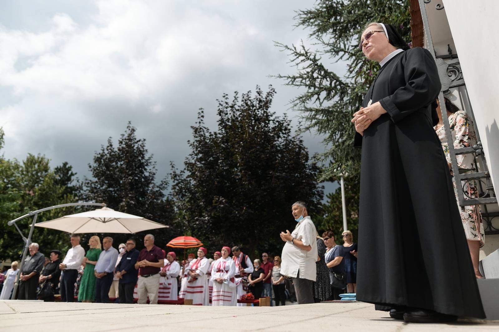 Zagreb: Misno slavlje i proštenje u Stenjevcu povodom Velike Gospe