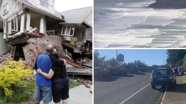 Prošla je opasnost od tsunamija na Novom Zelandu, ali građani se ne smiju približiti plažama