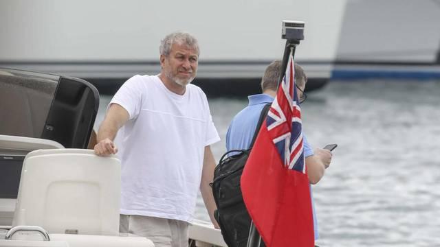Exclusif - Roman Abramovitch en vacances sur l?île de Saint-Barthélemy