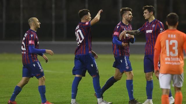Šibenik: HNK Šibenik i HNK Hajduk susreli se u 17. kolu Prve HNL