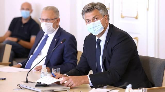 Zagreb: Sastanak Znanstvenog savjeta za borbu protiv koronavirusa