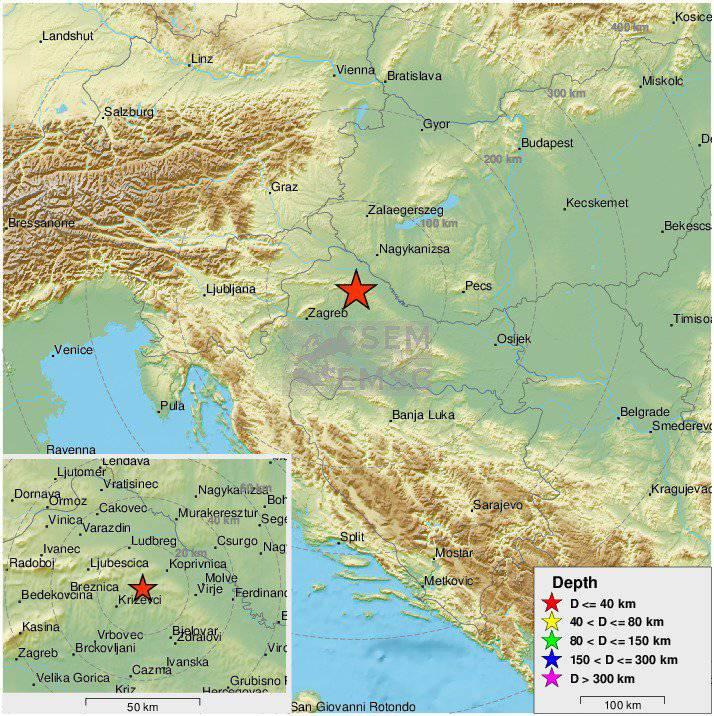 Tresli se prozori: Potres od 3,4 Richtera pogodio je Koprivnicu