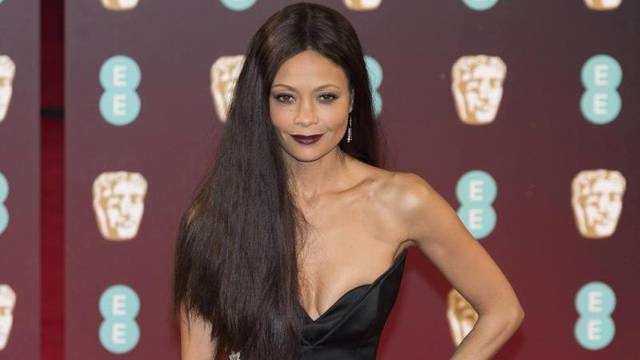 Thandie Newton attends EE British Academy Film Awards 2017 at the Royal Albert Hall. London, England, UK (12/02/2017)