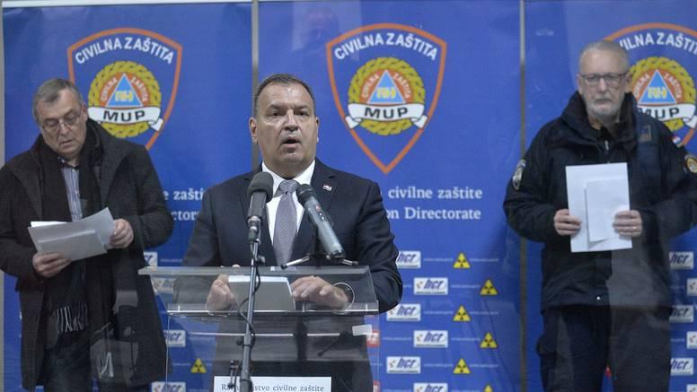 'Imamo 39 novozaraženih, 481 ukupno, zaražena i 2 policajca'