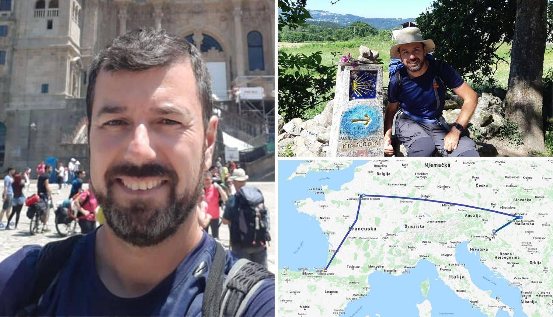 Nenad je pješačio čak 799 km: 'Camino je susret s Bogom...'