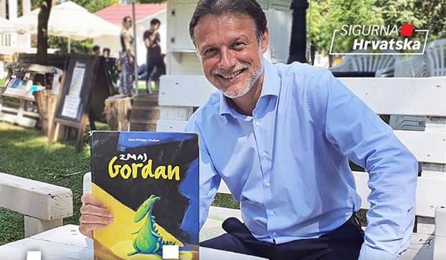 Jandroković o zmaju imenjaku: 'To mi je najdraža dječja priča'