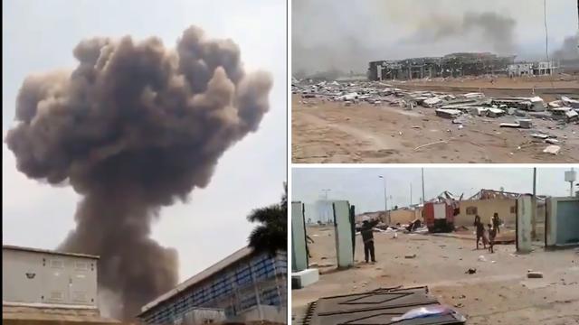 Četiri velike eksplozije razorile su Batu. Poginulo je 15 osoba, a  više od 500 je ranjeno