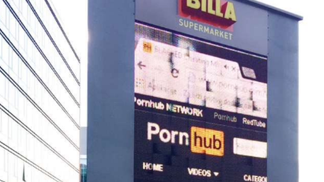 Zagreb: Umjesto popusta, na videozidu 'raspalili' PornHub