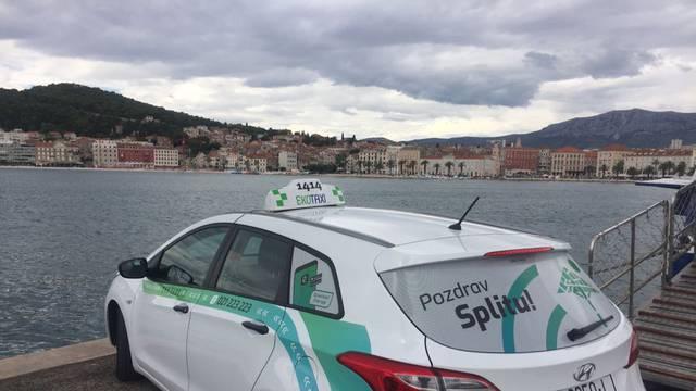 """Eko taxi u Dubrovniku i Splitu uvodi """"happy hour"""""""