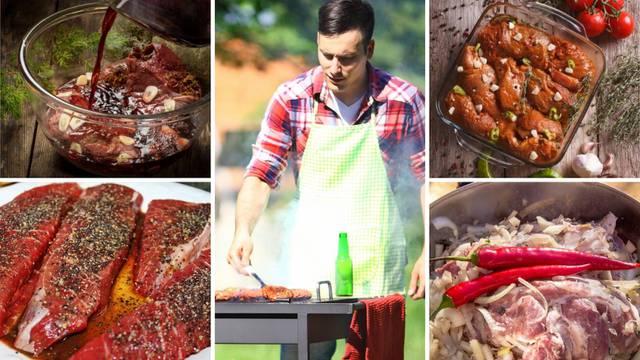 Top 7 vrsti ruskih marinada za meso na roštilju - mekano i fino
