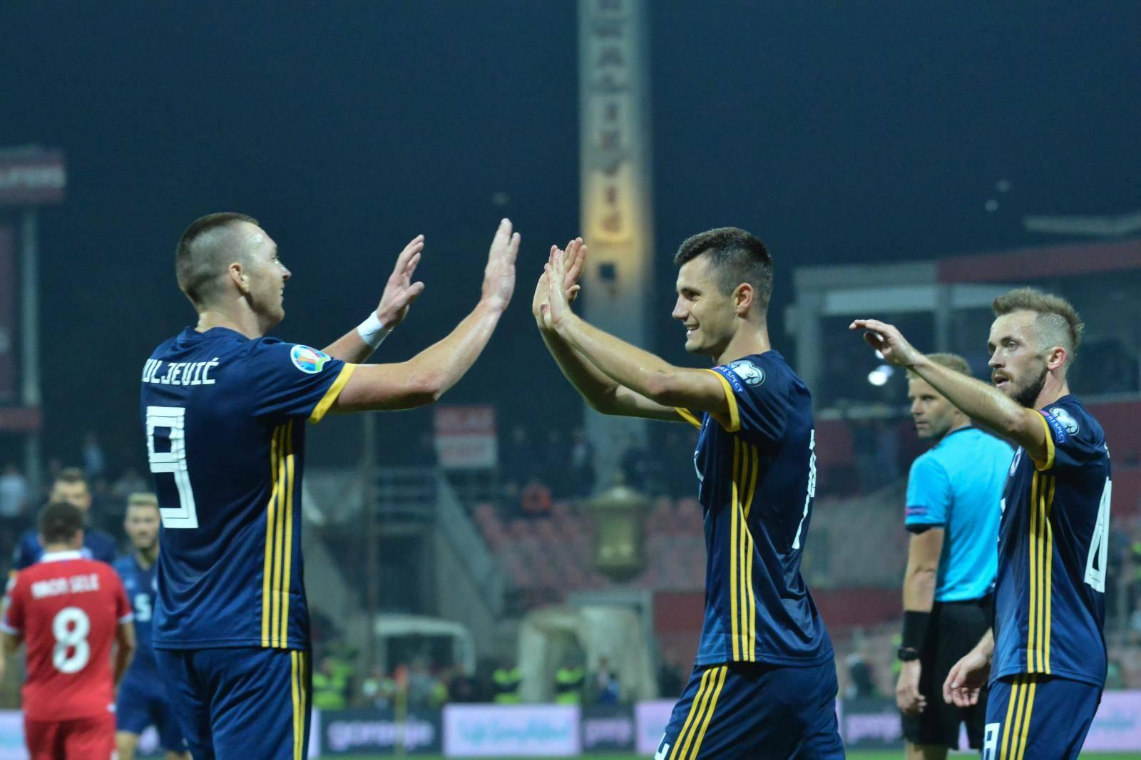 Zenica: Kvalifikacije za Europsko prvenstvo, Bosna i Hercegovina - Lihtenštajn