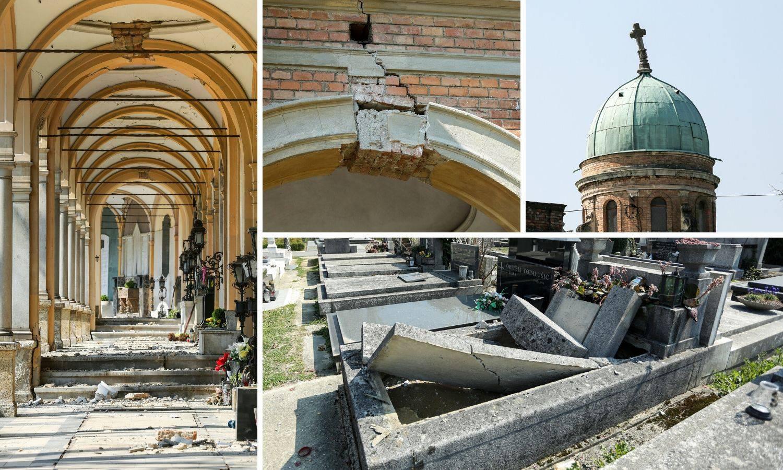 Mirogoj devastiran: U potresu oštećeno čak 6000 grobova...