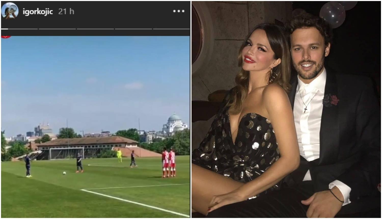 Dok je Seve u Zagrebu, u Srbiji Igor prati nogometne utakmice