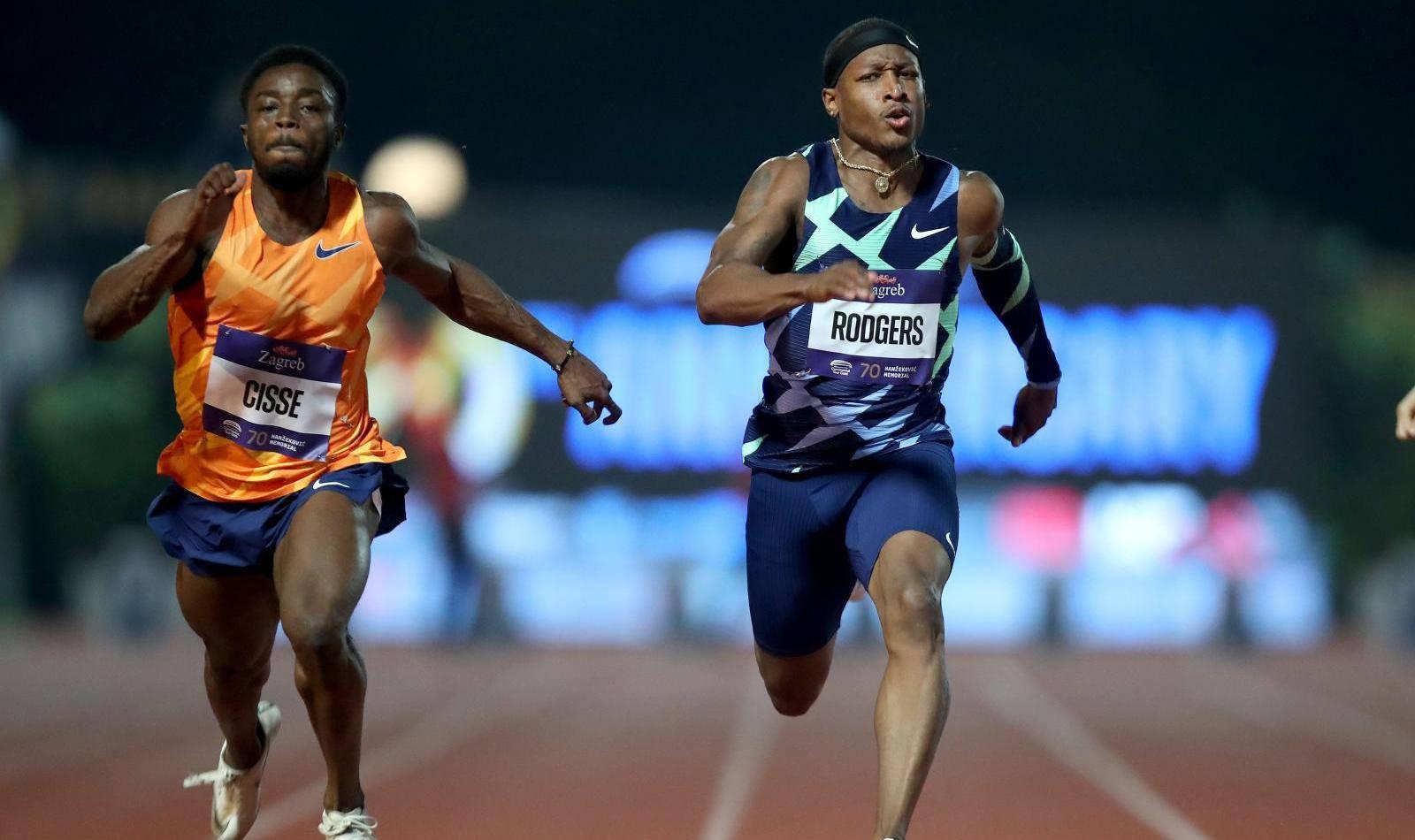 Zagreb: 70. memorijal Borisa Hanžekovića, 100m, muški