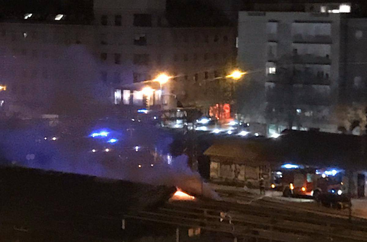 Nakon mjesec dana opet izbio požar na Zapadnom kolodvoru