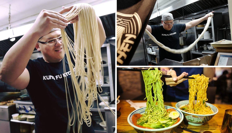 'Master of Noodles': Pogledajte kojom brzinom pravi rezance