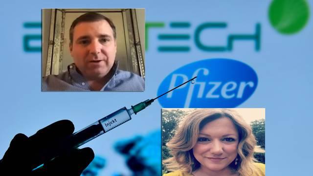 'Probali smo Pfizerovo cjepivo. Bilo je kao da imam mamurluk i svrbjelo me je po cijelom tijelu!'