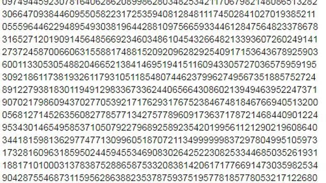 Prikaz broja Pi