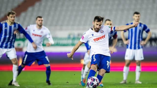 Split: Utakmica 18. kola Prve HNL, HNK Hajduk - NK Lokomotiva