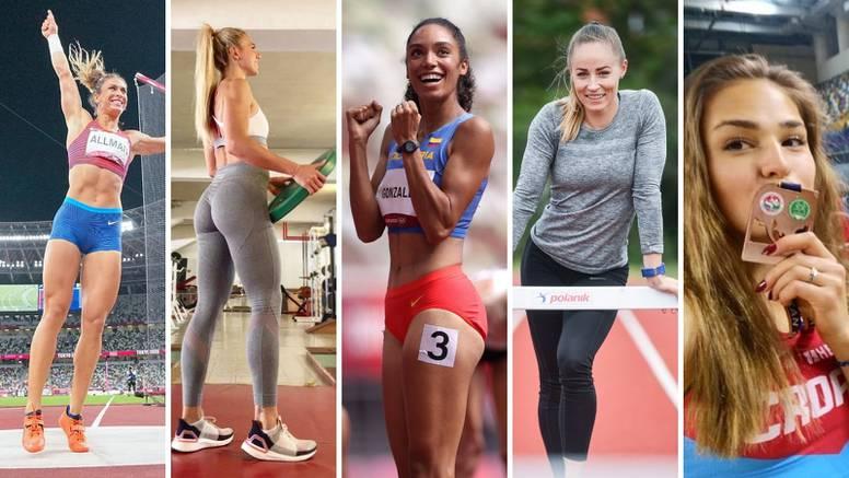 Pet ljepotica Hanžeka: Jedna od najljepših atletičarki, Sandrina suparnica, supruga igrača NFL-a