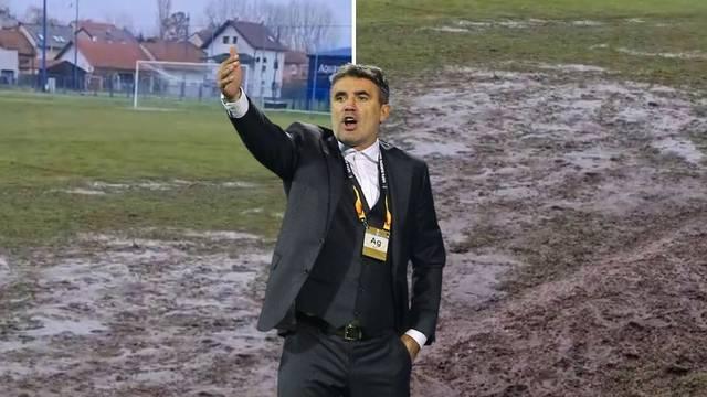 Nogomet u blatu: Na ovom će travnjaku igrati Dinamo i Rudeš