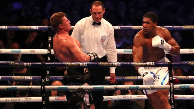 Anthony Joshua v Alexander Povetkin - WBA Super, IBF, WBO & IBO World Heavyweight Titles