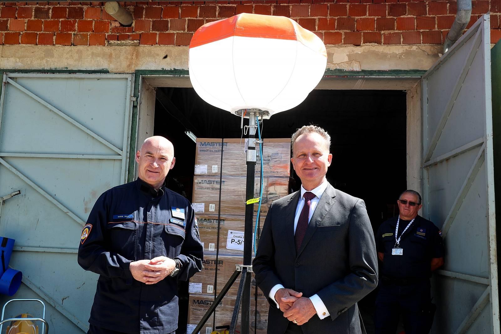 Jastrebarsko: Njemačka donirala tehničku opremu Civilnoj zaštiti