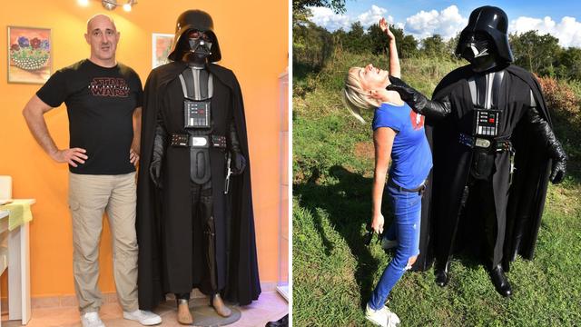 Danju je ugostitelj, noću Darth Vader: 'I ženit ću se u kostimu'