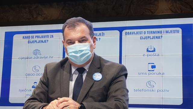 Beroš: 'Aktivirali smo platformu naručivanja za cijepljenje. U RH se pojavio i novi njujorški soj'