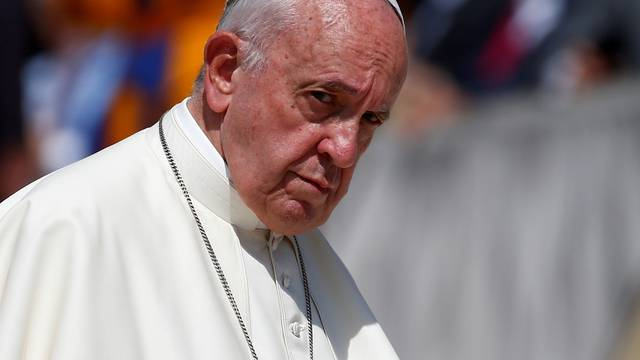 FILE PHOTO: Pope Francis holds weekly audience at Vatican