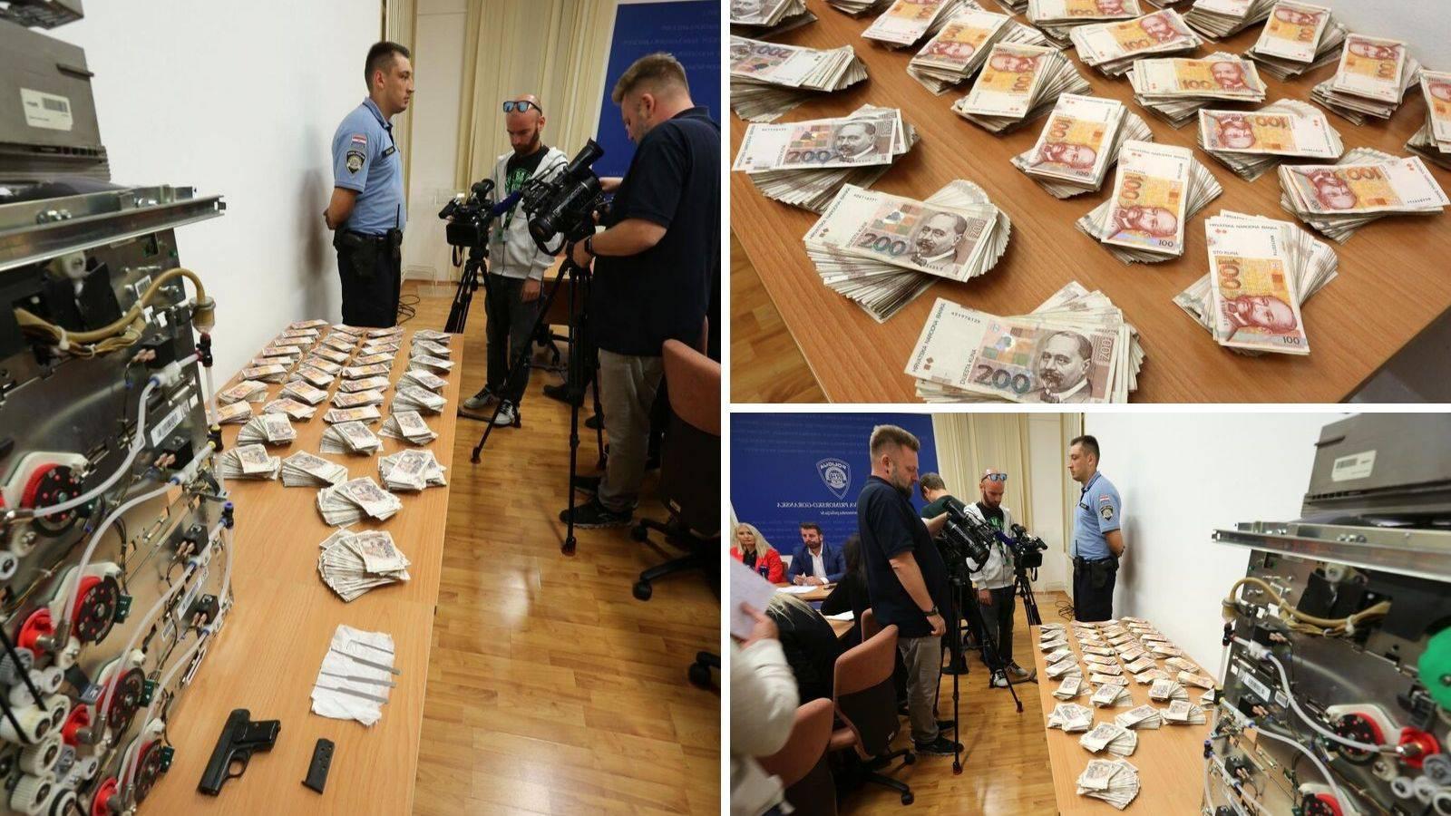 Policija otkrila tko je opljačkao čak milijun kuna iz bankomata