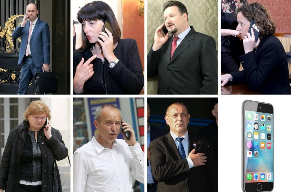 Novi mobiteli za članove Vlade: Alo, alo za 65 milijuna kuna...