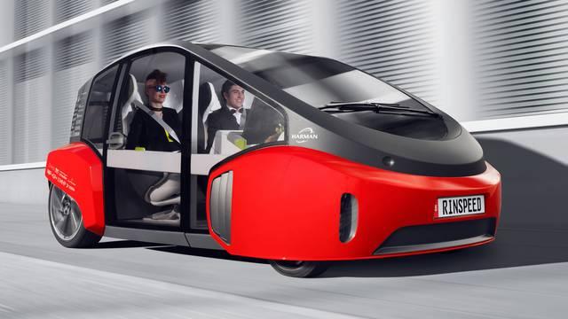 Rinspeeed ima novi električni automobil s vlastitim vrtom